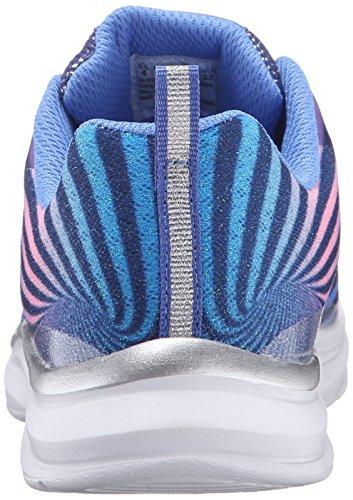 Skechers Pepsters 80595L, Zapatillas Deportivos, Niñas Azul