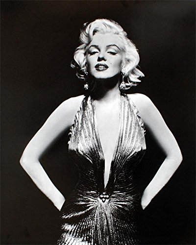 Bruce Teleky Marilyn Monroe. Black and White Photo Print Poster (16 x 20) from Bruce Teleky