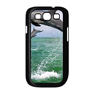 Dolphin Custom Cover Case for Samsung Galaxy S3 I9300,diy phone case ygtg518670
