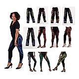utopia africa Set Of 12 Traditional Print Leggings