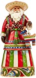 Enesco Jim Shore Heartwood Creek Mexican Santa Figurine, 7-1/4-Inch