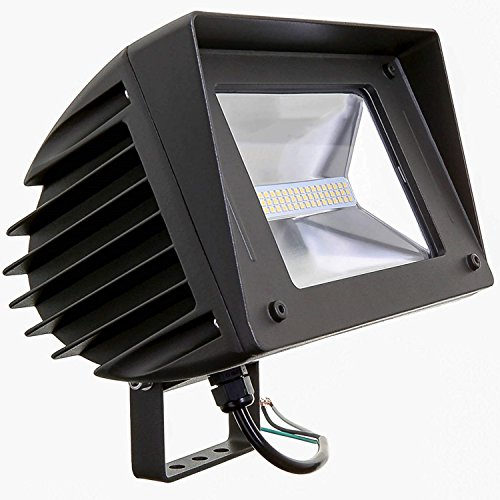 50W LED Flood Light – Swivel Mount Included, 5000K (Daylight) 6766 Lumens, 150/200 Watt HPS/HID Replacement, Outdoor Security and Area Lighting, UL Listed -