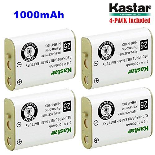 Kastar 4-Pack Cordless Phone