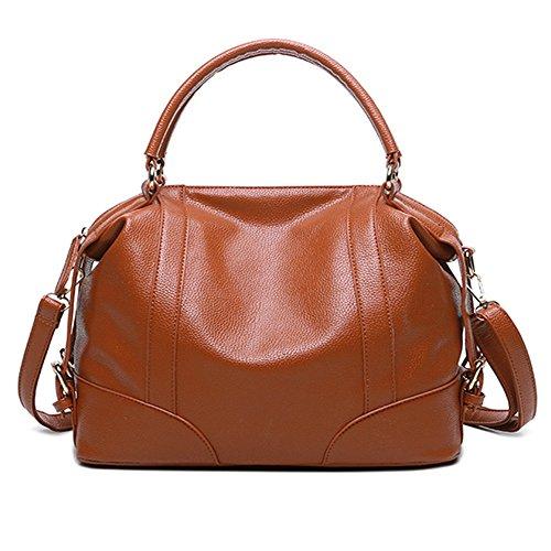 Borse di cuoio delle donne delle borse delle donne di modo impermeabilizzano i sacchetti di Tote del sacchetto di spalla