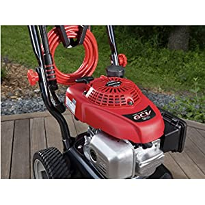 Troy-Bilt XP 3100-PSI 2.7-GPM Cold Water Gas Pressure Washer with 5 spray tips | Medium Duty | Honda engine