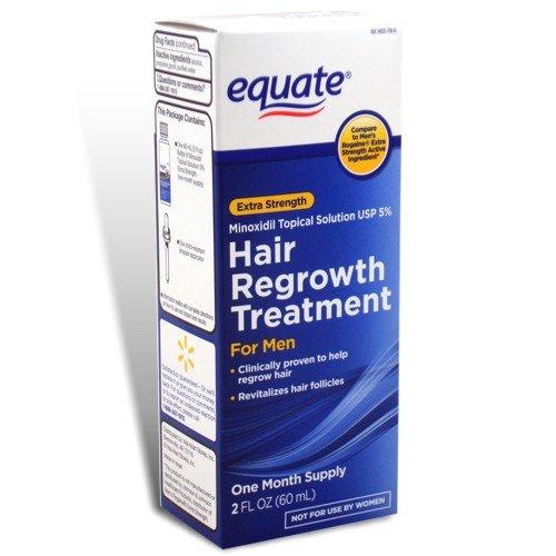 Equate - repousse des cheveux traitement pour les hommes Minoxidil 5% Extra Strength, 2 fl oz