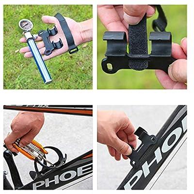 PQPQPART High Pressure MTB Bike Compact Suspension Fork & Rear Shock Pump 210 psi : Sports & Outdoors