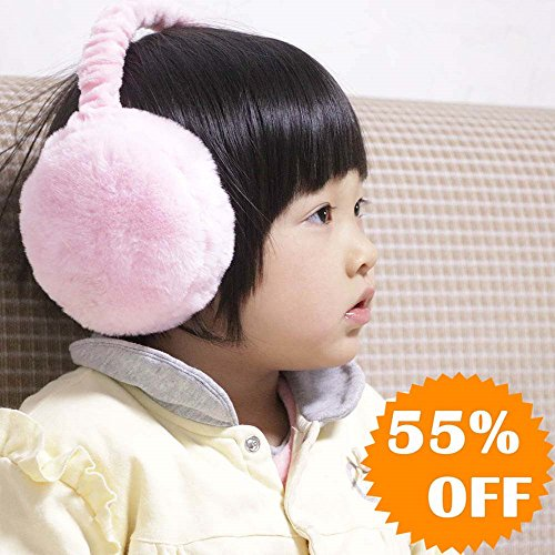 Cozy Winter earmuffs for girls and ladies, Adjustable Sizes, Outdoor Warmers Ear Muffs, Cold Weather Ear Warmer with Foldable Design and Premium Plush Texture