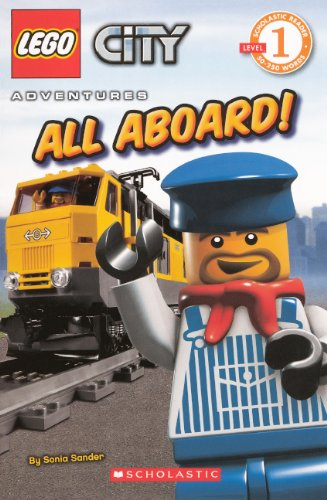 All Aboard! (Turtleback School & Library Binding Edition) (Scholastic Reader: Level (Lego City All Aboard)