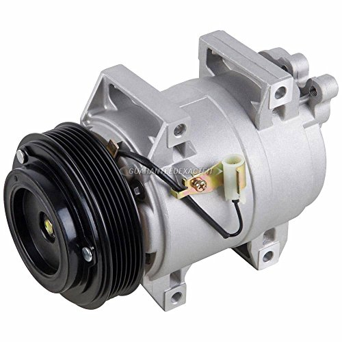 New Premium Quality AC Compressor & A/C Clutch For Volvo S60 S80 V70 XC70 XC90 - BuyAutoParts 60-01493NA (Volvo Air Conditioning)