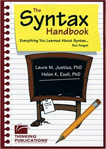 The Syntax Handbook: Everything You Learned About Syntax but