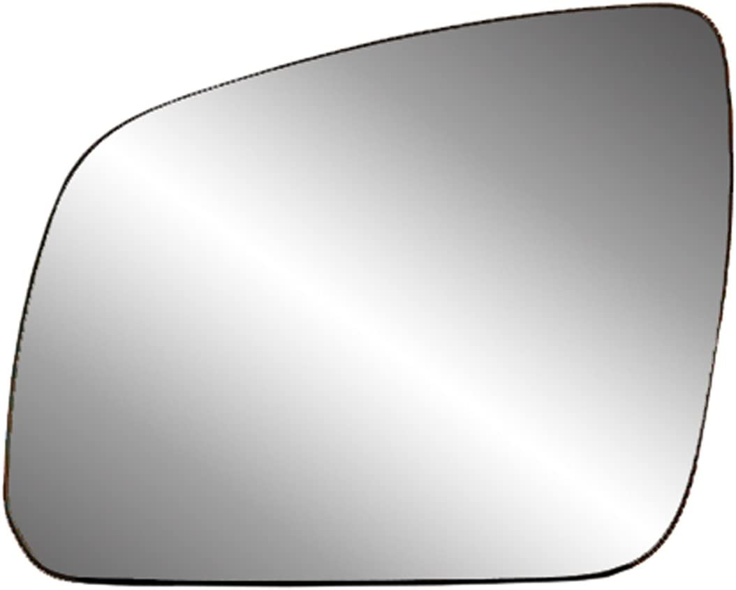 SL-Class Fit System Driver Side Heated Mirror Glass w//Backing Plate S-Class Sedan E-Class Wagon S-Class Coupe CL 4 1//8 x 6 3//4 x 7 3//4 E-Class Blue Lens Mercedes C-Class