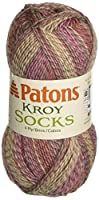 Kroy Socks Yarn-Brown Rose by Spinrite