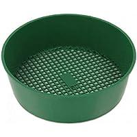 Canjerusof Tuinzeef kunststof Riddle groen voor Composy bodemsteen mesh tuingereedschap grootte: 21 * 5cm