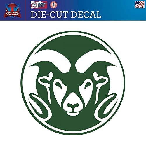 - Victory Tailgate Colorado State Rams Die-Cut Vinyl Decal (12 Inch)