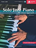 Solo Jazz Piano: The Linear Approach Bk/Online Audio