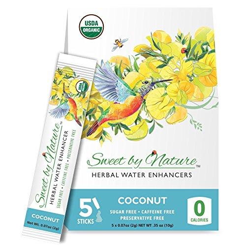 Herbal Enhancer - Sweet by Nature Organic Herbal Water Enhancer - Honeybush & Coconut