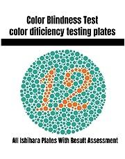 Color Blindness Test: Color Deficiency testing plates