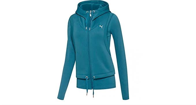 737fd523e741 PUMA Women s Active Forever Layer Jacket at Amazon Women s Clothing ...