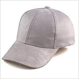 48fa78d07b6 Amazon.com  VANCOL Soft Faux Leather Suede Hat Baseball Cap (Light Grey)  (0603589992201)  Books