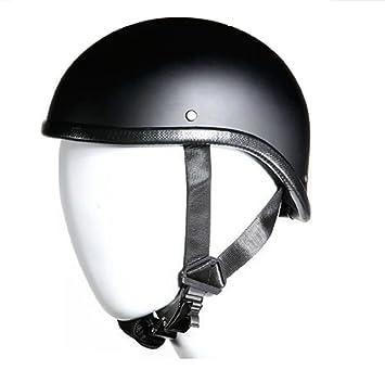 Perfil bajo Harley Chopper – Gladiator plana negro casco de moto