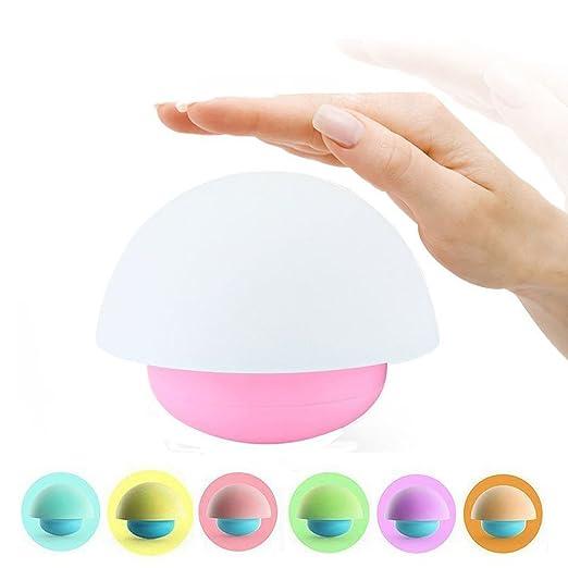 4 opinioni per BestFire Tumblr Funghi Design Variopinta di Notte del Sensore di Tocco