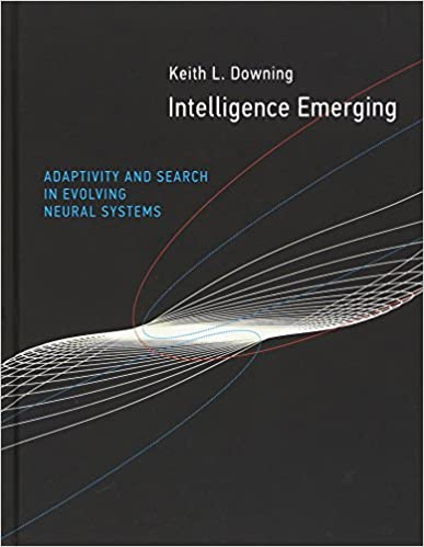 Intelligence Emerging Adaptivity and Search in Evolving Neural Systems