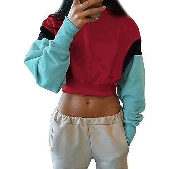 Cooljun Damen Hoodie Sweatshirt, Frauen Kapuzenpullis