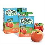 Go Go Squeez Fruit Sauce, Apple Peach, 360g per Unit (4 X 90g per Pouch)