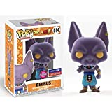 Funko Pop! Dragon Ball Z - Flocked Beerus #514 (Funimation Exclusive)