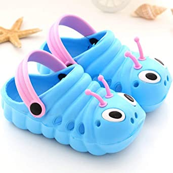 Meikosks Home Toddler Little Kids Clogs Sandals Non-Slip Girls Boys Clogs Slide Garden Beach Shower Slippers