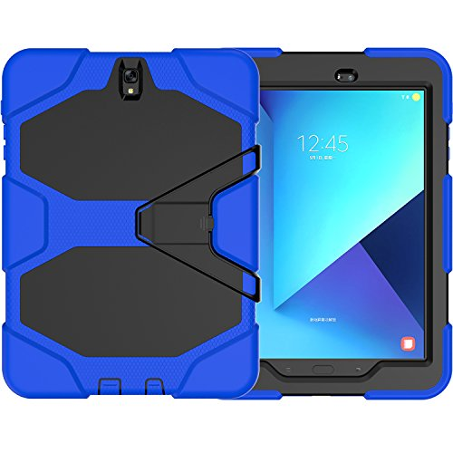 Cheap Cases Samsung Galaxy Tab S3 9.7 Case(SM-T820),Slim Heavy Duty Shockproof Rugged Cover Three..