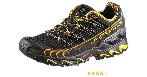 La Sportiva Ultra Raptor - Deportivos de Running para Hombre, Color Amarillo/Azul, Talla 47: Amazon.es: Deportes y aire libre