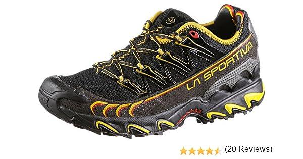 La Sportiva Ultra Raptor - Deportivos de Running para Hombre, Color Amarillo/Azul, Talla 45.5: Amazon.es: Deportes y aire libre