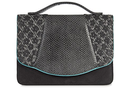 Ruby Shoo Belfast Black Womens Hand Clutch Bag