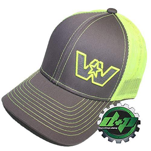 ef76591d51223 Diesel Power Plus Western Star Neon Green Truck hat Cap Embroidered W Logo mesh  Back Trucker