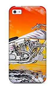 Tpu Case Cover For Iphone 5c Strong Protect Case Fort Mill Motorcycles Design