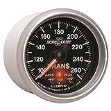 Auto Meter 3658 2-1/16'' 100- 260 F Full Sweep Electric Transmission Temperature Gauge