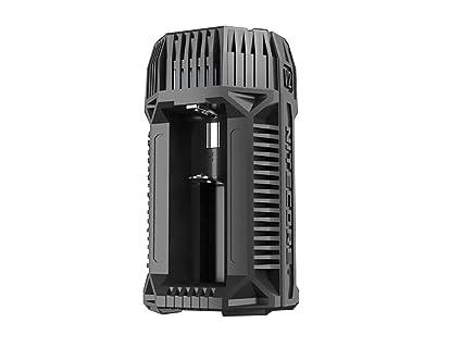 Amazon.com: NITECORE V2 6A - Cargador de batería de 2 ...