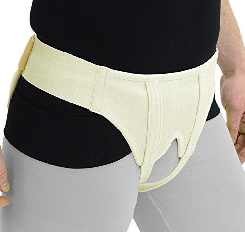 Ita-Med Hernia Support Double Sided with Removable Foam Inserts, XX-Large by ITA-MED