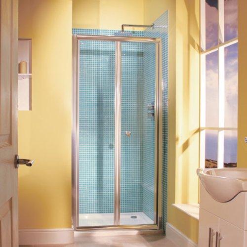 Better Bathrooms Aquafloe 6mm 800 Bi Fold Shower Door Buy Online In Isle Of Man At Desertcart Productid 63709861