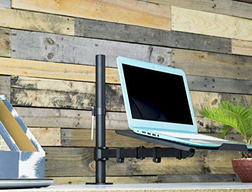 Vivo Single Laptop Notebook Desk Mount Stand Fully