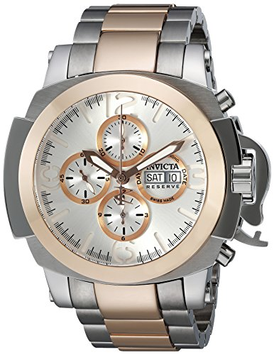 Invicta Men's 'Reserve' Swiss Automatic Stainless Steel Casual Watch (Model: 18701)
