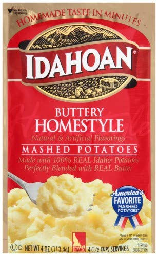 Idahoan, Buttery Homestyle Mashed Potatoes (Pack of 20) by Generic