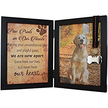 Amazon.com: Pawprints Remembered Pet Memorial 5\