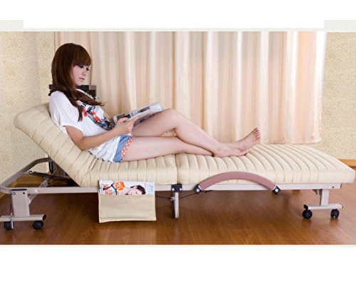 RWUEFSJV Folding Bed/Office Double Bed/Bed Rest/Nap Bed/Simple Bed/Sponge Rollaway Bed-B