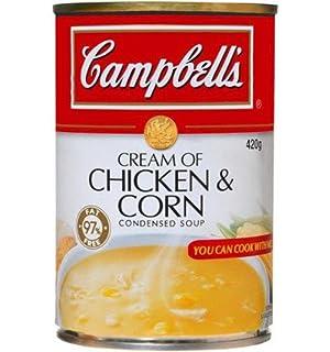 Campbell Sopas Condensadas Sopa de Pollo Y Maíz 420gm