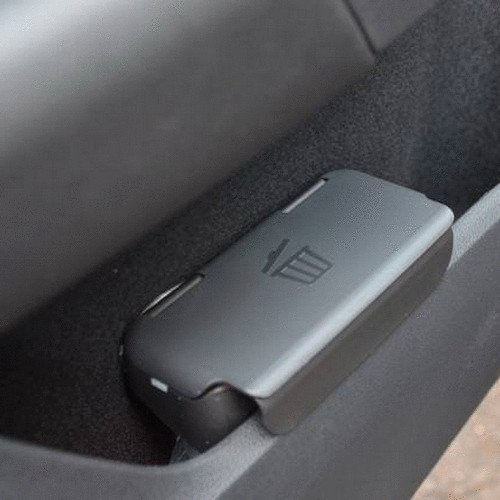 Original Volkswagen Bin Para Panel de puerta Negro Color VW Golf A7Tiguan, Jetta, Passat