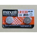 日立マクセル ボタン電池 LR1130 2個 (LR54、389A、189互換)