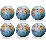 Funny Novelty Practice Golf Balls 6Pack For Kids Men Woman , Christmas Birthday Gift